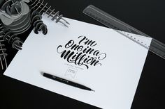 Role: Typography, hand lettering, logoThird collection of lettering,hope you like it!