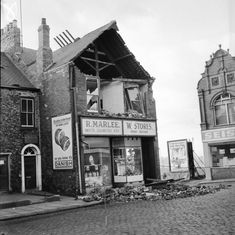 In the century, hurricane force gales seldom hit Wearside but when they did the city experienced widespread damage. Sunderland City, Drinking Fountain, Tear Down, Bus Station, Back In Time, Newcastle, Old Photos, Bring It On, Street View