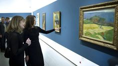Crown Princess Mary attended the official opening of the exhibition at Orddrupgaard.
