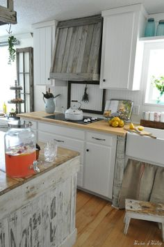 Ten June: Rustic Country Kitchen Makeover {OPC $50 Gift Card Before & After Project Winner!}