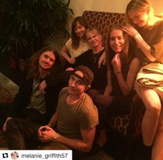 Dakota and Family celebrating Melanie's Birthday