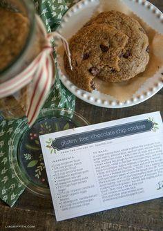 Freebie - Printable Christmas Recipe Cards