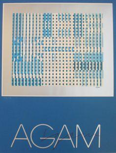 Yaacov Agam Serigraph