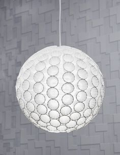 Paper Cup Pendant Light Shade! Must make this!