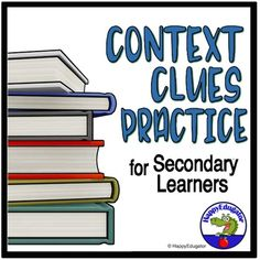 Context Clues Worksheets - Middle School and High School Teaching Activities, Teaching Resources, Context Clues Worksheets, Comprehension Strategies, Reading Comprehension, Middle School, High School, Increase Vocabulary, Third Grade Reading