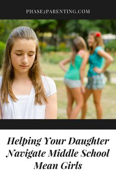 Helping Your Daughter Navigate Middle School Mean Girls Helping Your Daughter Navigate Middle School Mean Girls for Parenting… – Preteen Clothing Parenting Classes, Parenting Books, Parenting Teens, Parenting Advice, Parenting Styles, Raising Girls, Raising Daughters, Parent Resources, Mean Girls