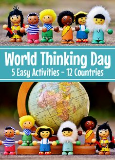 World Thinking Day awardThinking Day on February This HUGE activity pack includes five different scouting helpers featuring flags and girls in traditional dress from twelve different nations from around the world. Scout Mom, Girl Scout Swap, Girl Scout Leader, Girl Scout Troop, Cub Scouts, Girl Scout Daisy Petals, Daisy Girl Scouts, Girl Scout Brownie Badges, Brownie Girl Scouts