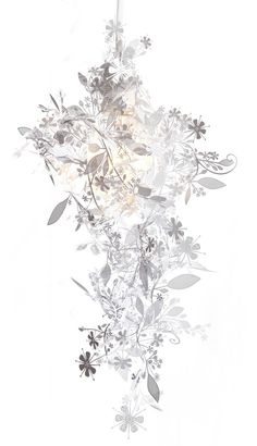 Floral lamp- I have this and I love it!