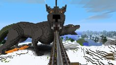 A Cerberus Minecart Station. That is AWESOME!