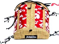 SUP Deck Bag - Retro Red by DeckBagZ t'was the sale before Christmas. see all neoprene accessories and deck bags on sale now! hand crafted Florida grown - tropical, hibiscus, beachy, retro surf style SUP gear for your paddleboard touring. Sup Paddle Board, Standup Paddle Board, Retro Surf, Vintage Surf, Kayak Anchor, Marine Rope, Kayak Storage, Kayak Accessories, Vintage Branding