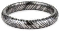 Edward Mirell Men's Titanium Timoku 4mm Dome Ring: Jewelry: Amazon.com