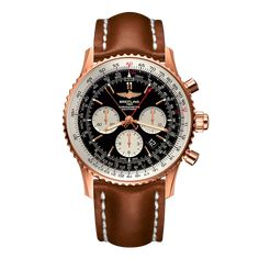 Worldwide Watches Magazine Breitling Superocean Heritage, Breitling Navitimer, Breitling Watches, Calendar Date, Black Leather Watch, 3 O Clock, Black Crystals, Red Gold, Chronograph