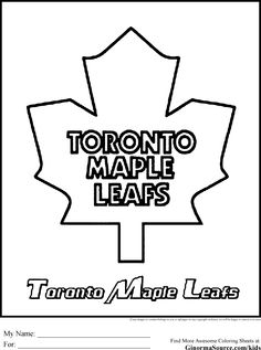 Toronto Coloring Pages