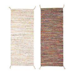 TÅNUM Tapis tissé plat IKEA Ce tapis est tissé à la main par des artisans qualifiés, ce qui le rend unique.