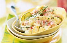 Recette - Salade de pommes de terre au jambon | Notée 4/5