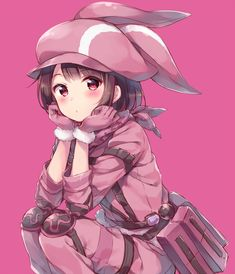 Zerochan has 386 Sword Art Online Alternative: Gun Gale Online anime images, wallpapers, fanart, and many more in its gallery. Gun Gale Online, Anime Chibi, Schwertkunst Online, Online Anime, Sword Art Online Asuna, Loli Kawaii, Kawaii Anime Girl, Sao Ggo, Sword Art Online Wallpaper
