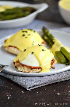 This Easy Blender Hollandaise Sauce is a simplified version of the classic sauce that still retains all of the original flavor!