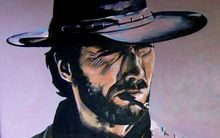 Clint Eastwood Poster Print(China (Mainland))