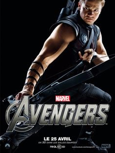 Clint Barton aka Hawkeye (Jeremy Renner), probably second favorite hero next to Iron Man