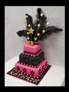 13th Birthday Cake  by Not Just Cakes, via Flickr
