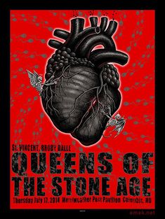 GigPosters.com - Queens Of Stone Age, The - St. Vincent - Brody Dalle