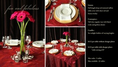 Fun and Fabulous is just one of the many options of Pre Designed packages available at www.StageRightRentals.com. Priced per table including delivery ( within Kelowna) , set up and take down! Serving the Okanagan Valley.