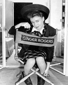 Ginger Rogers on set of The Major and the Minor