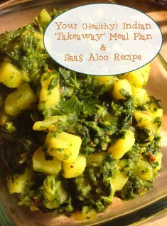 Your (Healthy) Indian 'Takeaway' Meal Plan & Saag Aloo Recipe | Super Naturally Healthy with Kezia Hall