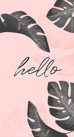 Phone Wallpaper Quotes Red 45 New Ideas Wallpaper Pastel, Hello Wallpaper, Wallpaper Tumblr Lockscreen, Flamingo Wallpaper, Tropical Wallpaper, Pink Wallpaper Iphone, Aesthetic Pastel Wallpaper, Iphone Background Wallpaper, Pink Iphone