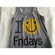 I  Fridays tank top Friday tank top. Previously worn. Still in top condition! Forever 21 Tops Tank Tops