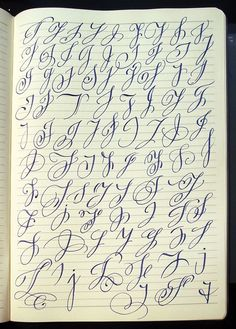 Capital letters : Majuscule J variants by Polish calligrapher Barbara Galinska on Behance Hand Lettering Alphabet, Script Lettering, Lettering Styles, Calligraphy Tutorial, Lettering Tutorial, Calligraphy Handwriting, Calligraphy Letters, Penmanship, Creative Lettering