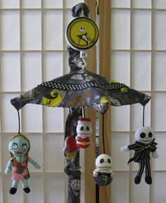 There are no words for how much I want this for my future nursery...I never would have thought it existed... Nightmare Before Christmas Baby Mobile! ! !