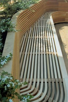planter and bench by alterry design
