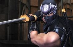 Ninja Gaiden (1988) Ryu Hayabusa is fighting to recover his Dragon Blade, but it's obvious he's actually seeking to fell Doku, the Greater Fiend who destroyed his home village.