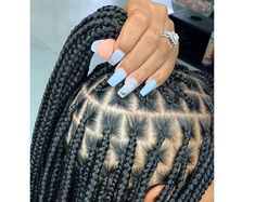 Protective Styles For Natural Hair Discover Ready to ship Knotless box braids wig for black women cornrows wig cornrow wigs micro braids faux loc dreadlocks human hair lace braided wig Box Braids Hairstyles For Black Women, Braids Hairstyles Pictures, African Braids Hairstyles, Braids For Black Hair, Braid Hairstyles, Hairstyles 2018, Rose Hairstyle, Ethnic Hairstyles, Dyed Hair