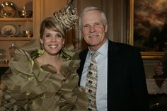#socialites Laura Turner Seydel with her father Ted Turner  Sip With Socialites  http://sipwithsocialites.com/