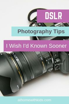 5 DSLR photography tips I wish I'd known sooner Just getting started with your DSLR or feeling frustrated with your photos? These DSLR photography tips will transform your photos and keep you from making the same mistakes many photographers make. Dslr Photography Tips, Photography Lessons, Photography Equipment, Digital Photography, Professional Photography, Photography Lighting, Horse Photography, Iphone Photography, Product Photography