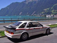 https://flic.kr/p/JLYLf5   Ford Sierra XR4i Turbo, Sicht auf Brunnen, Schweiz, 17-7-2016.   Ford Sierra Scene 2. Ford Youngtimer Trophy Schweizer Alpen.