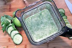 Summer Breeze Cocktail is an easy summertime drink that will cool you off on a hot day! Cucumbers mix with limes, prosecco & vodka to flavor up your day! Prosecco Sparkling Wine, Mint Simple Syrup, Slice Of Lime, Summertime Drinks, Agave Nectar, Alcohol Recipes, Summer Breeze, Cocktails, Party Ideas