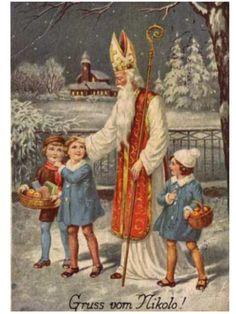 Gruss Vom Nikolo!    Saint Nicholas