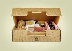 picnic boxes #cardboard