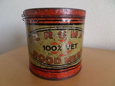 Croma rood merk - ca. jaren 1930.