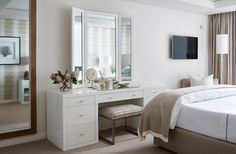 Yvonne O'Brien Interior Design Bedroom Decor, Vanity, Interior Design, Mirror, Lancaster, Classic, Bedrooms, Africa, Inspiration