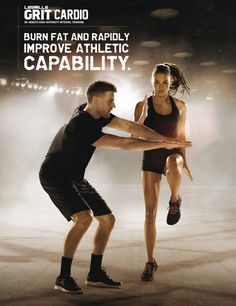 GRIT™ CARDIO, es una sesión que combina ejercicios de alto impacto con un entrenamiento explosivo que maximiza el consumo de calorías durante el entrenamiento, seguido de la quema de grasa durante horas después del mismo. Logra resultados rápidos y mejora tu capacidad atlética utilizando únicamente tu cuerpo.