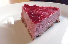 Tarte glacée aux fraises