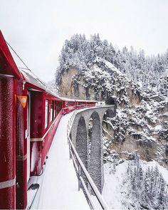 Landwasser-Viadukt, Graubunden
