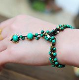High-end malachite weaving bracelet