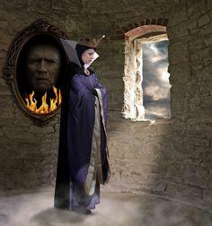 Is Clint Eastwood the mirror?! BAHAHA