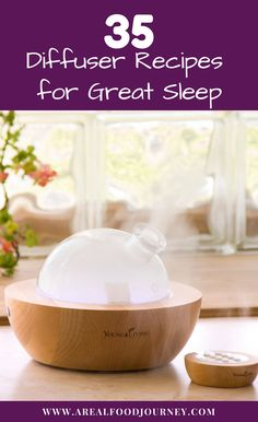All the best aromatherapy oils for sleep. Learn how to diffuse essential oils for restful sleep!