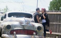 50's greaser style session/ love the style so much!